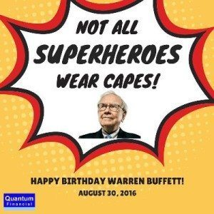 Happy Birthday Warren Buffett