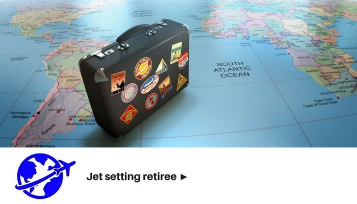 Jet Setting Retiree