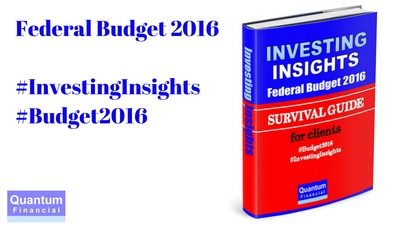 Budget 2016 Survival Guide