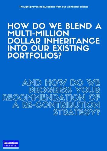 Invest an inheritance