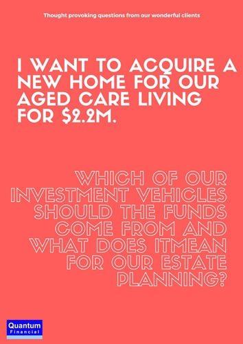 Prepare for aged care