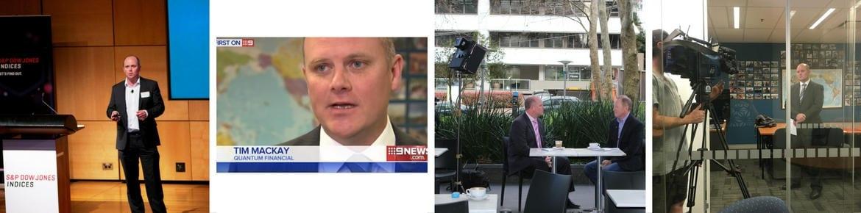 Tim Mackay in the media