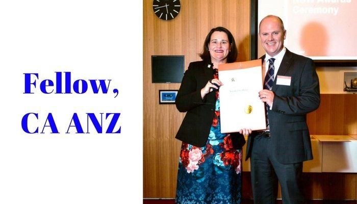 Tim Mackay Fellow of the Chartered Accountants Australia & New Zealand