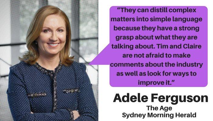 Adele Ferguson on Quantum Financial's Tim Mackay and Claire Mackay