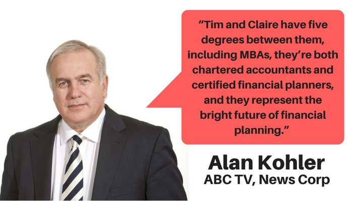 Alan Kohler on Quantum Financial's Tim Mackay and Claire Mackay