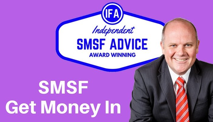 Contribute money into SMSF self managed super Tim Mackay