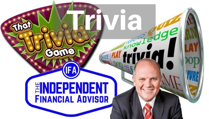 Finance trivia by Tim Mackay