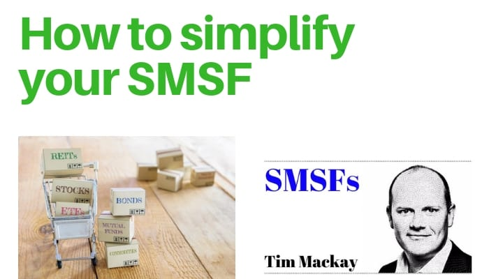 SMSF Expert Tim Mackay in the Australian Financial Review